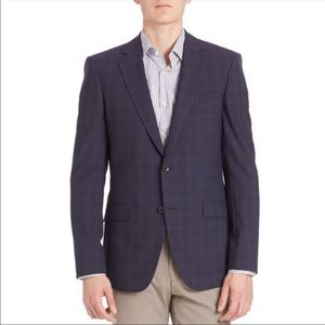 Theory Malcolm Mantee Shadow-Check Wool Sport Coat